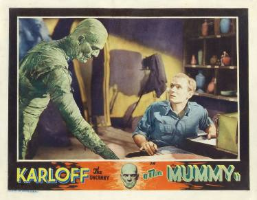 The Mummy (1932) film poster.